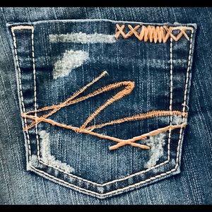 NWOT BKE Starlite Flare Jeans Size 28 X 31.5